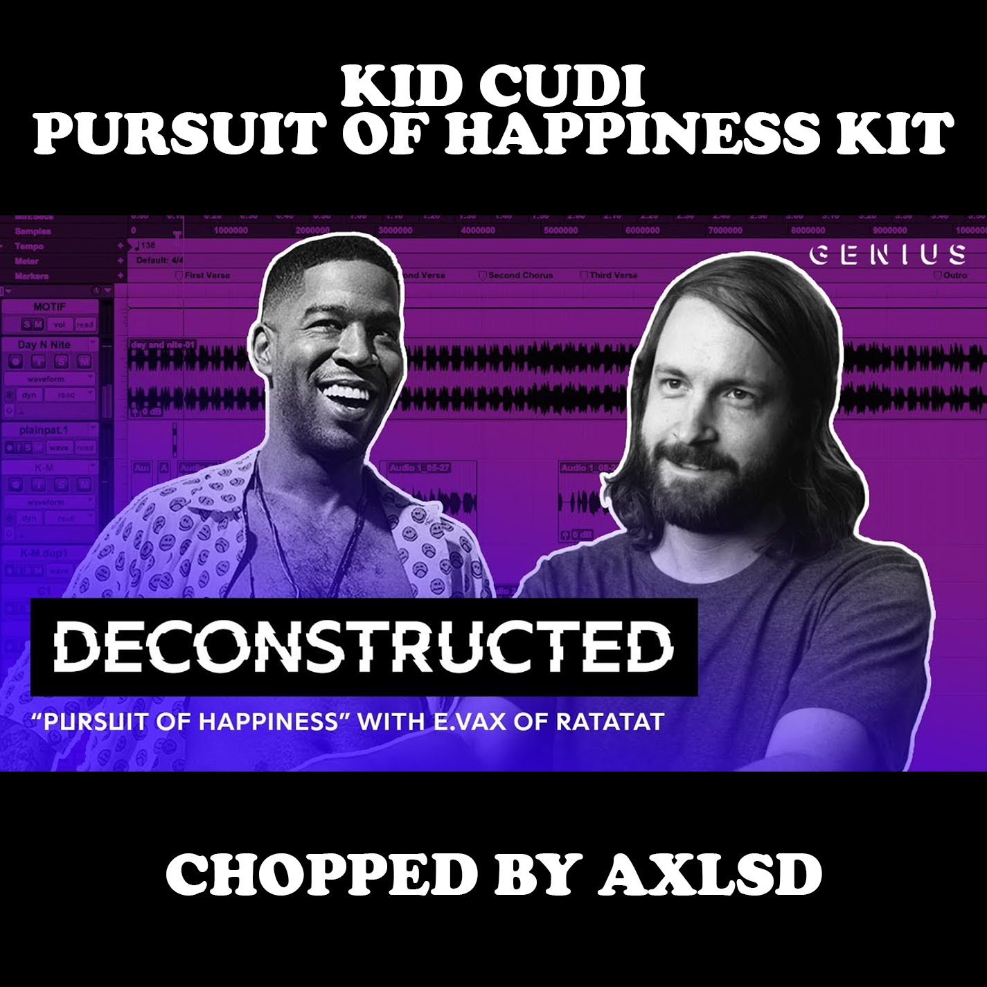Kid Cudi - Pursuit Of Happiness Kit